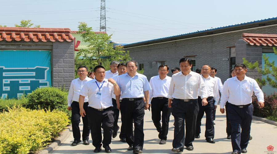 渭南市委副书记王瑞峰莅临我司调研指导工作